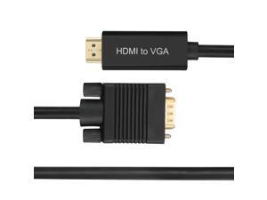 FORSPARK Premium HDMI to VGA 10ft (3M) Converter Cable with chip support video only