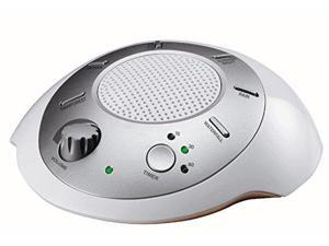 HoMedics SS-2000G/F-AMZ Sound Spa Relaxation Machine with 6 Nature Sounds, Silve