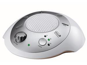 HoMedics SS-2000 Sound Spa Relaxation Sound Machine with 6 Nature Sounds, Silver