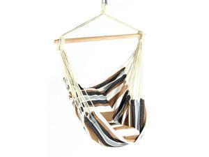 Sunnydaze Hanging Hammock Chair Swing, Calming Desert, for Indoor or Outdoor Use, Max Weight #58; 26