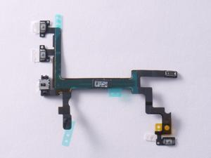NEW Power Switch Volume Control Button Key Flex Cable 821-1416-07 for iPhone 5 A1248 A1249