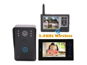 "S01528 7"" TFT Touch Wireless Video Door Phone Doorbell Intercom Night Vision IR Home Security Camera Monitor"