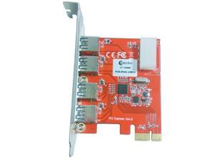 Q00446 WBTUO LT109NS PCI-Express to USB 3.0 Card Expansion Card for Desktop