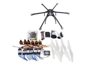 F10513-E Six-axle Folding Hexacopter Aircraft Unassembled Frame GPS Drone Kit with APM 2.8 Multicopter Flight Controller