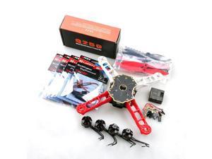 F11069 Mini 250 RC Quadcopter Combo ARF Q250 Frame CC3D Flight Controller Emax Simon 12A ESC Brushless Motor MT2204 CW CCW