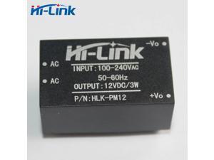 Hi-link HLK-PM12 AC-DC 220V to 12V 3W Buck Step Down Power Supply Module Converter Intelligent Household Switch UL/CE