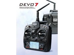 Walkera Devo 7 DEVO7 Transmitter 7 Channel DSSS 2.4G Transmitter Without Receiver for Walkera Helis Helicopter