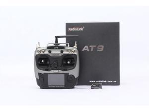 Radiolink AT9 2.4GHz 9 Channel Transmitter Radio & Receiver for RC Hobby DIY Quadcopter remote control Radio & Receiver