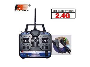 FlySKY FS 6CH 2.4G FS-CT6B RC Transmitter & receiver Remote controller 6 channel for Heli/Airplane/Glid/Copter