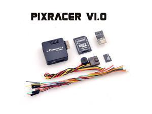 Mini Pixracer Autopilot Xracer FMU V4 V1.0 PX4 Flight Controller Board for DIY FPV Drone 250 RC Quadcopter Multicopter Black Color