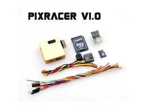 Mini Pixracer Autopilot Xracer FMU V4 V1.0 PX4 Flight Controller Board for DIY FPV Drone 250 RC Quadcopter Multicopter  Golden Color