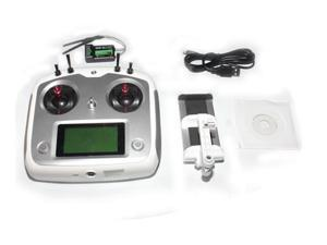 Flysky FS-i6S 2.4G 10CH AFHDS Touch Screen Transmitter + FS-iA6B 6CH Receiver + Mobile Holder Self Center Throttle Mode