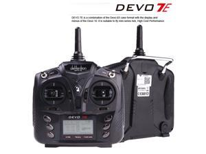 Walkera DEVO 7E 2.4G 7CH DSSS Radio Control Transmitter for RC Helicopter Airplane Mode 1