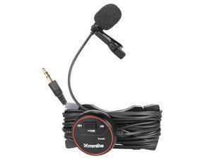 Commlite CVM-V03GP CoMica dB Adjusting Lavalier Microphone Clip-on Omnidirectional Condenser Mic for GoPro Hero 3 3+ 4
