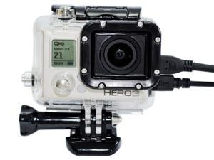 Generic GoPro HD HERO3 Outdoor Sports Camera Protective Case Housing Side Opening No Len