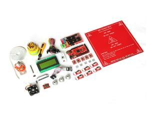 3D Printer Kit Mega2560 Ramps1.4 Controller A4988 LCD2004 Hotend Endstop MK2a Heatbed
