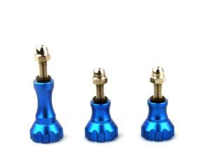 Colorful Aluminum Thumb Knob Stainless Bolt Nut Screw Kit for Sport Camera GoPro HD Hero 2 3