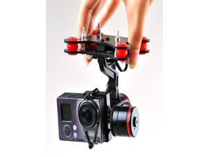 Upgrade Whole Sealing Brushless Gimbal Camera Mount W/ Motor Controller for Gopro 3 FPV Aerial Photography