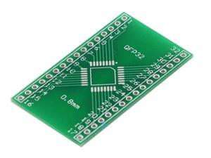 5 Pcs SMD QFP32 To DIP Pin Pitch 0.8mm Adapter Plate Converter Board