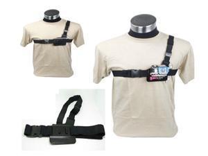 New Adjustable Light Weight 3 Points Chest Belt Shoulder Strap for GoPro HD Hero 2 3 Camera