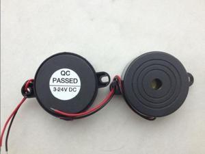 5Pcs 42*16mm DC3-24V Electronic Active Piezoelectric Buzzer Alarm Speaker