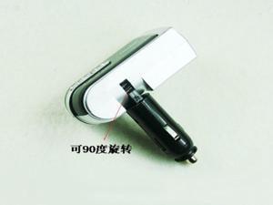 USB 2 Way Car Cigarette Lighter Power Socket Splitter Charger Adapter