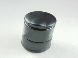F07176 Black Portable Cigarette Smokeless Cylinder Ashtray Holder Home