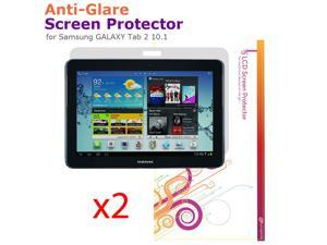 rooCASE 2x Anti-Glare Matte Screen Protectors for Samsung GALAXY Tab 2 10.1