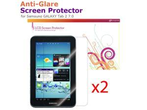 rooCASE 2-Pack Anti-Glare Matte Screen Protectors for Samsung GALAXY Tab 2 7.0