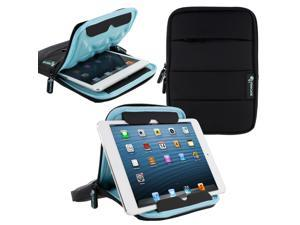 roocase XTREME Super Foam Universal 7-inch Sleeve Case with Stand for iPad Mini / Galaxy Tab 7.0 8.0 / Tab S 8.4 / Fire HD 6 7 HDX 7 / Nexus 7 2013 / Asus MeMO Pad 7 ME173 ME176 and More, Black