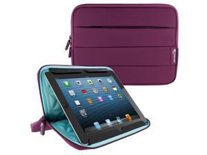 Universal Sleeve for 10 inch Tablet, rooCASE Nylon Carrying Sleeve Pouch Case for iPad Pro 9.7, Air 2 1, Galaxy Tab A 9.7/10.1, Google Nexus 9, LG G Pad 10 and More, Purple