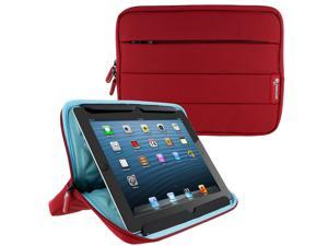 Universal Sleeve for 10 inch Tablet, rooCASE Nylon Carrying Sleeve Pouch Case for iPad Pro 9.7, Air 2 1, Galaxy Tab A 9.7/10.1, Google Nexus 9, LG G Pad 10 and More, Red