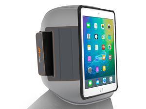 iPad Mini 4 Case Bundle, roocase [Exec Tough] Orb System iPad Mini 4 Slim Fit Drop Protection Cover Case with Detachable Orb Strap Car Mount for Apple iPad Mini 4 (2015), Granite Black