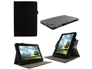 rooCASE ASUS MeMO Pad FHD 10 Case ME302C / ME301T - Dual View Multi Angle Stand Cover -  Black