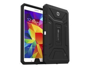 "Samsung Galaxy Tab 4 8.4 Case, GearIT SHOXX PC/TPU Silicone Hybrid Rugged Hard Shell Cover Tablet Case for Galaxy Tab 4 8.4"" SM-T700, Black"