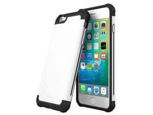 iPhone 6s Case, roocase [Exec Tough PRO] iPhone 6s Slim Fit Case Hybrid PC / TPU [Corner Protection] Armor Cover Case for Apple iPhone 6 / 6s (2015), Arctic White