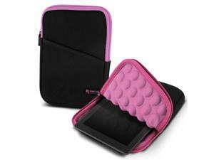 "roocase Bubble Sleeve Carrying Universal 7"" Tablet Case for iPad Mini Retina / Galaxy Tab 3 4 7.0 8.0 / Nexus 7 2013 / Asus MeMO Pad 7 ME173 ME176CX / HP 7 Slate Plus / Dell Venue Pro 7.0 8.0, Pink"