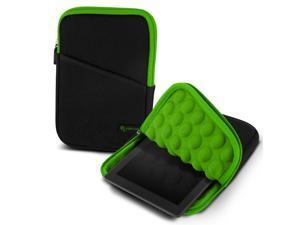 "roocase Bubble Sleeve Carrying Universal 7"" Tablet Case for iPad Mini Retina / Galaxy Tab 3 4 7.0 8.0 / Nexus 7 2013 / Asus MeMO Pad 7 ME173 ME176CX / HP 7 Slate Plus / Dell Venue Pro 7.0 8.0, Green"
