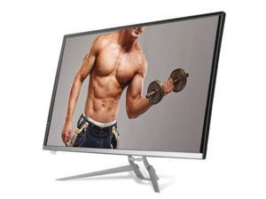 """CROSSOVER New 324K-TP UHD Real 4K 32"""" LED 3840x2160 60Hz HDMI 2.0 DP USB Computer Monitor + Remote control with Iron Tripod"""