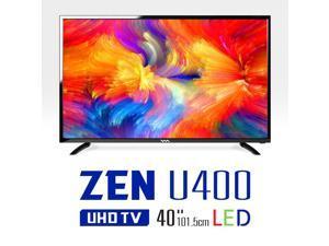 WASABI-MANGO ZEN U400, 40 Inch Real UHD (3840x2160) TV Monitor, LED, HDMI 2.0, HDCP 2.2, 10Bit, YCbCr444