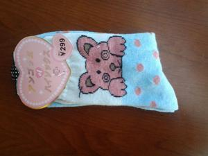 2 Pairs NEW Cotton Rabbit Hair Wool Women Girl Girls women's Cute Socks hosiery clothing apparel for Spring Autumn Winter