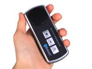 Multipoint Bluetooth Handsfree Speakerphone Portable Car Kit Speak Phone Black Wireless Bluetooth In Car Visor Kit