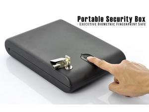 Fingerprint Safe Box for Valuables | Biometric Security Case (Express Shipping, only 4-7 days to US)