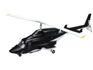 Aoshima 1/48 Airwolf Helicopter Clear Body Version Model Kit - 005590