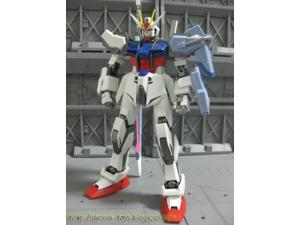 Gundam Seed Chogokin Metal Material Model Strike Gundam (Launcher and Sword)
