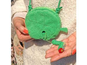 The Very Hungry Caterpillar The Very Hungry Caterpillar Coin Purse leaves (japan import)