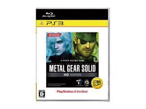 Metal Gear Solid HD Edition (PlayStation3 the Best Version) [Japan Import]