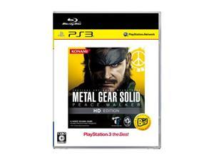 Metal Gear Solid: Peace Walker HD Edition (PlayStation3 the Best Version) [Japan Import]