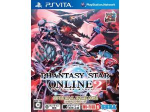 Playstation Vita Phantasy Star Online 2 Special Package(Japan Import)