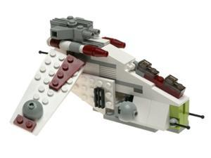 Star Wars Lego #4490 Mini Building Set Republic Gunship